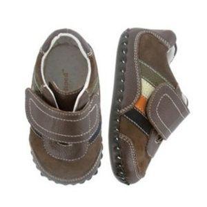 🌱 Pediped Originals 0-6m shoes in box